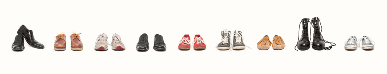 composicion de zapatos