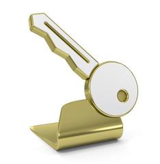Key Golden Icon