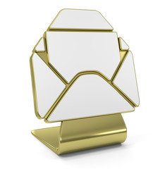 New Message Golden Icon