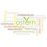 Tag Cloud Ostern / Osterfest