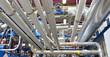Leinwanddruck Bild - Rohrleitungen // pipeline