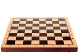 chess board on a white background