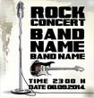 Billboard Rock Festival. vector illustration