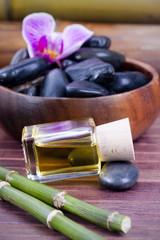aceite de masaje del spa