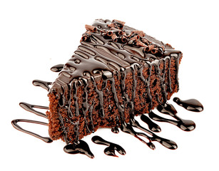 Chocolate cake with chocalate creame
