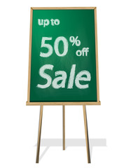 Discount black green board 50 percent off sale