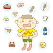 食物アレルギーの子ども