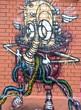 Fototapete Hauptstädtisch - Abstrakt - Graffiti