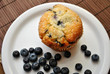 Blueberry Muffin with Fresh Blueberries