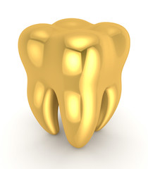 Golden tooth.