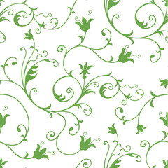 Seamless Floral wallpaper pattern