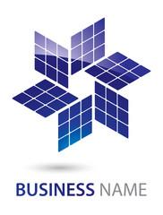 Solar Panel Logo Design