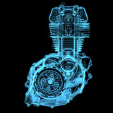 Motocycle engine