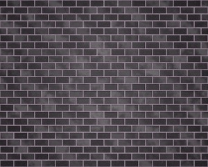 Brick wall with different gray colors