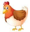 A mother hen