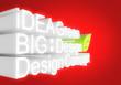 Design of panel 3d concept