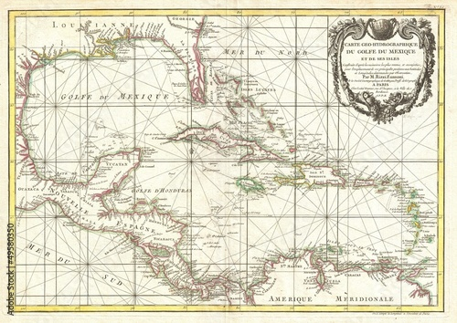 West Indies old map