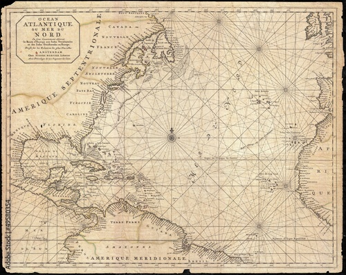 West Indies old map - 49580354