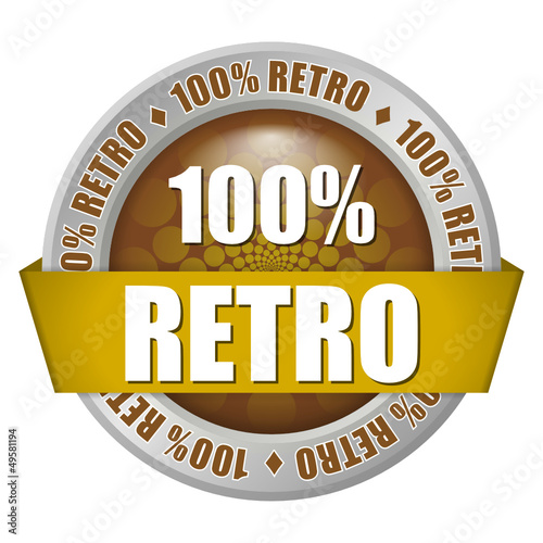button 100% retro 1