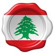 Wachssiegel Libanon
