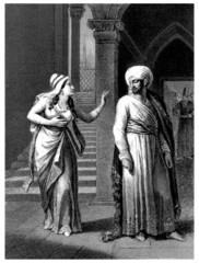 Arabia : Harem Scene - Pair