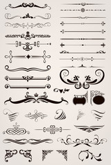 Elements Decorative Ornaments