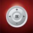Control Web Element Button vector