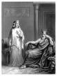 Antiquity : oriental King & Queen