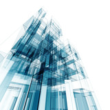Fototapety Abstract building