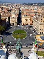 Blick über Rom