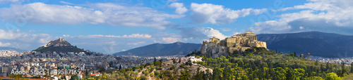 Plexiglas Athene Beautiful view of Athens, Greece