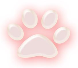 pink pet paw