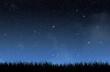 Leinwanddruck Bild - Stars