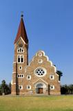 Christuskirche, famous Lutheran church landmark in Windhoek poster