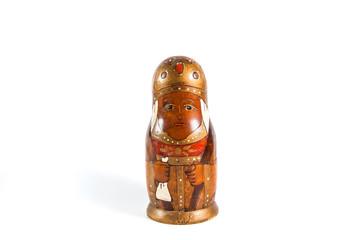 Antique matrioshka doll