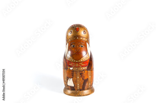 Antique matrioshka doll
