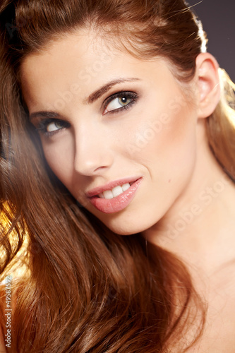 Beautiful Romantic Woman portrait