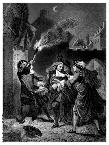 Street Violence - 17th century