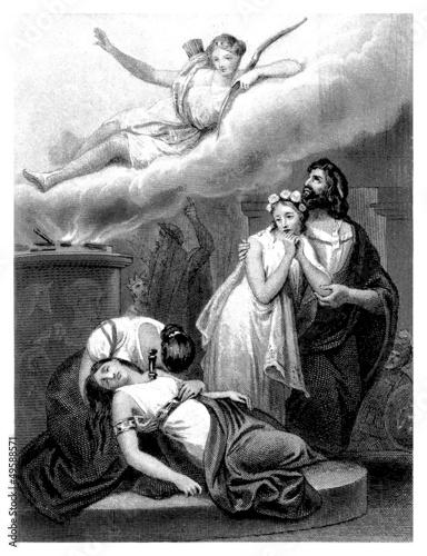 Killed Priestess - Ancient Greece