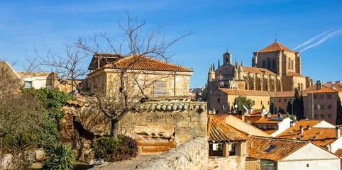 Salamanca with the San Esteban convent