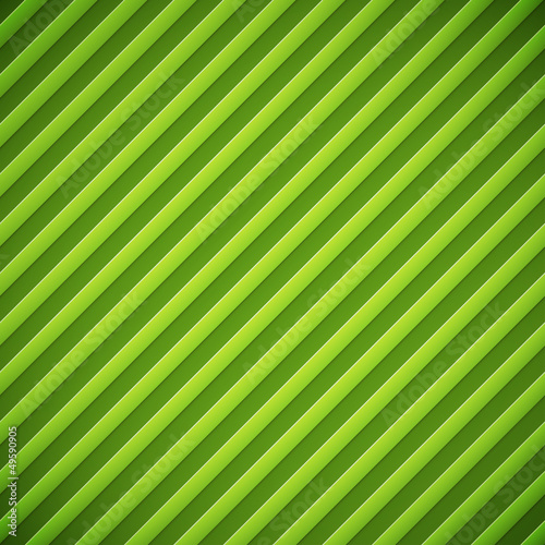 Staande foto Kunstmatig Bumped stripes green background