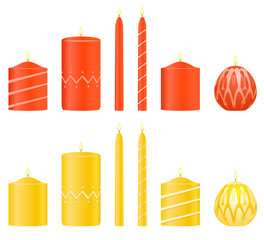 Vector set candles