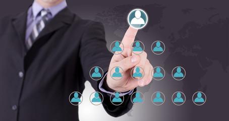 hiérarchie dans l'entreprise