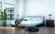 Schlafzimmer modern seitlich