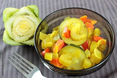 stewed vegetable - 49593390