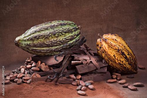 Papiers peints Confiserie Chocolat