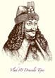 Постер, плакат: Vlad III Dracula Tepes: der historische Graf Drakula