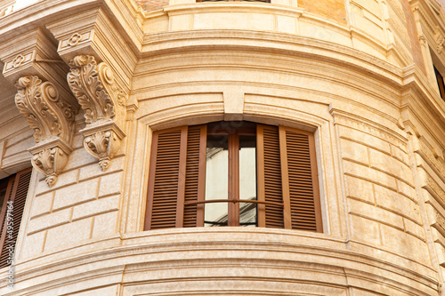 nobles Haus - Altbau in Rom - Detail