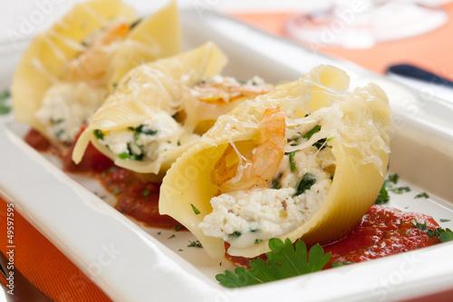 Shrimp Pasta Shells