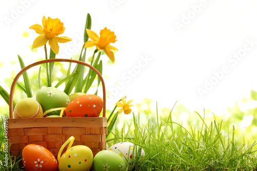 Easter Decoration Canvas Print